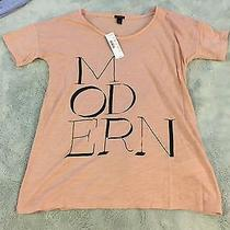 Jcrew Blush Modern T-Shirt Xxs New Photo
