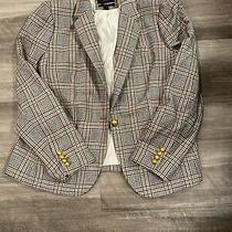 Jcrew Campbell Striped Blazer Size 16 Photo