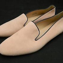 Jcrew Darby Suede Loafers Flats 150 6 Shoes Pale Thistle Pink Blush Sp Photo