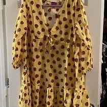 Jcrew Eddie Parker Strawberry Dress Xl  Photo