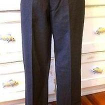 Jcrew Italian Wool Aldridge Suit Pants 225 Gray W33 30 Heather Charcoal Photo