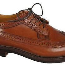 Jcrew Ludlow Wing Tips in English Tan Size 13 Dress Shoes  Item 09494 318 Photo