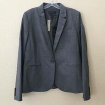 Jcrew Size 16 T Tall Bi-Stretch Campbell Blazer Wool One Button Photo