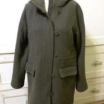 Jcrew Stadium Cloth Elements Coat 8 Fatigue 325 Jacket Photo
