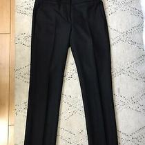 Jcrew Womens Campbell Cropped Pants Black 00 Photo