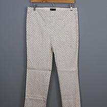 Jcrew Women's Tall Campbell Capri Pant in Triangle Print Retail 98 Item A6754 Photo