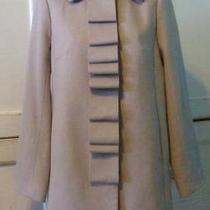 Jcrew Wool Ribbon Script Coat 12 P 275 Antique Stone Photo