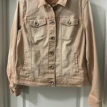 Jean Jacket in Blush Color by Merona  Womens Size L Photo