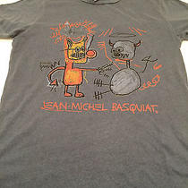 Jean Michel Basquiat T-Shirt Small Junk Food for Urban Outfitters Multi-Color  Photo