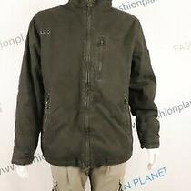 Jean Paul  A14 Megeve Jacket Men's Denim Bomeber Insulated Collar Winter Sz Xl Photo