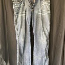 Jean Paul Da'mage Damage Jeans Size 36x32 Mens Distressed Blue Denim Photo