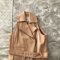 Jean Paul Gaultier Biker Jacket Size 10 Leather Photo