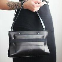 Jean Paul Gaultier Black Leather Bag Photo