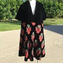 Jean Paul Gaultier Femme Oversize Multi Color Patches Velvet Sheath Dress Sz 6 Photo