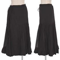 Jean Paul Gaultier Femme See-Through Cotton Skirt(k-16430) Photo
