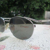 Jean Paul Gaultier  Junior  58 - 2272 Silver Vintage Rare 90's Unique Sunglasses Photo