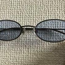 Jean Paul Gaultier Sunglasses 58-0023 Mirror Blue Lens Oval Metal Silver Men Photo