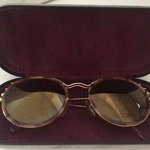 Jean Paul Gaultier Vintage Sunglasses Goldtortoise Round  Case Photo