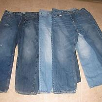 Jeans 36 X 30 American Eagle Aeropostale Lot of 4 Pairs  Photo