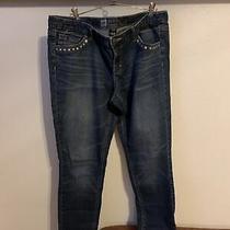 Jeans Women Skinny Stretch Size 12 Photo