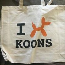 Jeff Koons Balloon Dog Christies Auction Promo Tote Bag Photo