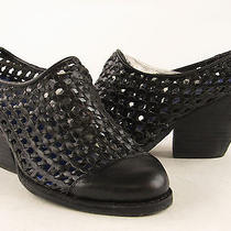 Jeffery Campbell Black Edgy Womens Closed Toe Slip on Booties Size 6.5m Photo