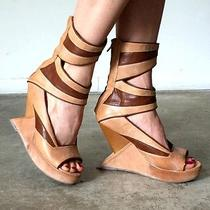 Jeffery Campbell Demeter Wedges 9 9.5 - Limited Edition - Retailed for 265  Photo