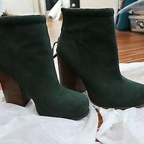 Jeffery Campbell Green Rumble Photo