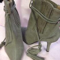 Jeffery Campbell Grey Gray Boots Size 7 Photo