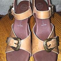 Jeffery Campbell Havana Last Women Size 7m Platform Sandal Western Brown Leather Photo