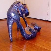 Jeffery Campbell Ibiza Handmade Size 9 Sandals Brand-New. Curved Heel Photo