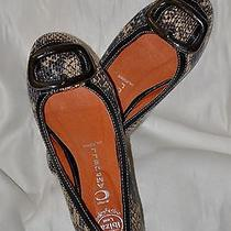 Jeffery Campbell Ibiza Villian 2 Adorable Flats Sz 8.5 Free Ship Pretty Photo