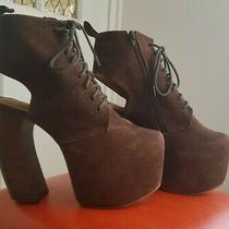 Jeffery Campbell Lana  Platform Ankle Heels Size 7.5 Photo