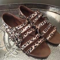 Jeffery Campbell Leopard Sandals Photo