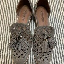 Jeffery Campbell Open Case Tassel Loafer Shoes Women's 7.5 Excellent Condition Photo