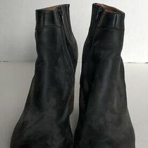 Jeffery Campbell Womens Havana Last Leather Booties Black Size 9 Photo