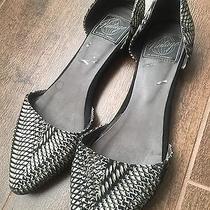 Jeffery Campbell Women's Slip on Snake Effect Pointed Flats Size 5 Photo