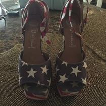 Jeffrey Campbell 4th of July Shoes Size 7 Photo