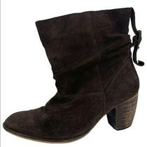 Jeffrey Campbell Ankle Boots Brown Suede Womens 38 Photo