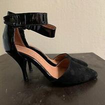 Jeffrey Campbell Ankle Strap Black High Heel Size 8 Photo