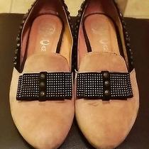 Jeffrey Campbell Authentic Suede Studded Femme Loafers Designer High End Luxury Photo