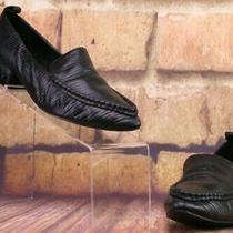 Jeffrey Campbell Barnett Studded Loafer (Women) - Black Patent - Sz 8 M Photo