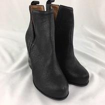Jeffrey Campbell Black Chunky Bootie Heel Size 9.5m  C7082 Photo