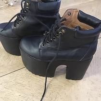 Jeffrey Campbell Black Havanas Last Boots  Photo