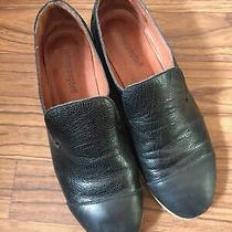 Jeffrey Campbell Black Leather Flats Womens Size 7 M Photo