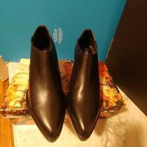 Jeffrey Campbell Black Milof Booties Size 6.5 Photo