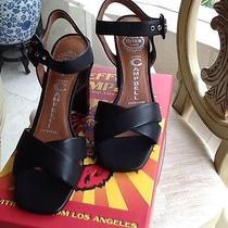 Jeffrey Campbell- Black Sandals- Nib 6.5 Us Photo