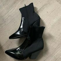 Jeffrey Campbell Black Sock Booties Size 8 Photo