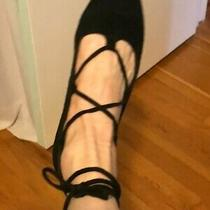 Jeffrey Campbell Black Suede Ankle Tie 1/2