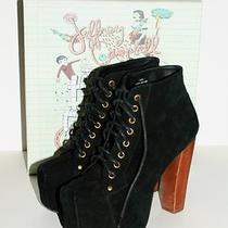Jeffrey Campbell Black Suede Lita Size 9 Photo